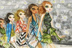 Runway Royalty #4 Canvas Art Print by Bella Pilar — iCanvas