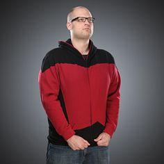 Star Trek: The Next Generation Uniform Hoodie from ThinkGeek