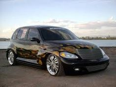 cool pt cruiser - Google Search My Dream Car, Dream Cars, Carros Retro, Car Man Cave, Chrysler Pt Cruiser, Bike Wheel, Sexy Cars, Plymouth, Cars And Motorcycles