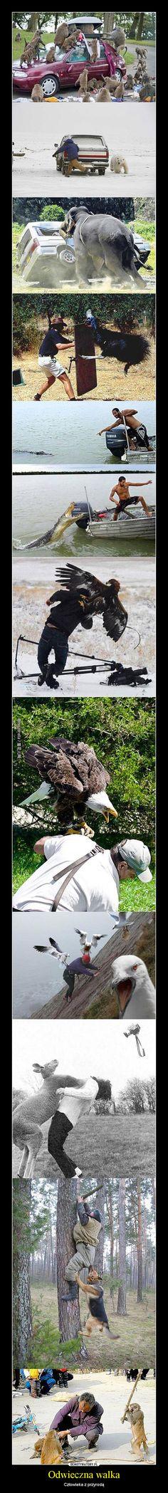 men vs nature