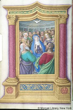 Book of Hours, MS M.732 fol. 29v - Images from Medieval and Renaissance Manuscripts - The Morgan Library & Museum