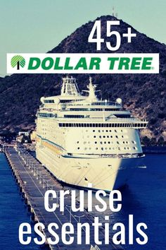 I LOVE shopping at our local Dollar Tree. We have one really close to our house, so I shop there often. Lucky us! Here are 48 items that you can buy at the dollar store to pack for your next cruise. Dollar Tree Cruise Essentials – Dollar Store Finds – Th Cruise Checklist, Packing List For Cruise, Cruise Travel, Cruise Vacation, Disney Cruise, Packing Lists, Carnival Dream Cruise, Cruise Outfits Carnival, Cruise Tips Royal Caribbean