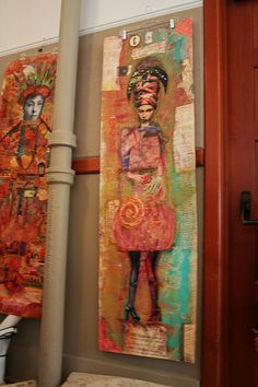 art journal inspiration Wallpaper Class Artfest 2008 by Anahata Katkin / PAPAYA Inc., via Flickr
