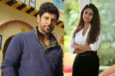 Vikram's next with Anand Shankar titled as Mareechan