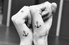 husband and wife tattoos ,