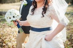 Blue and White Wedding Ideas - Virginia Countryside Wedding Photos