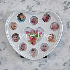 Cheap Il bambino è nato ottobre cuore di plastica photo frame, Compro Qualità Telaio direttamente da fornitori della Cina:  1.   Specifica dettagliata:      Numero di modello    OKP633      Tipo    Bambino photo frame      Stile    Moder