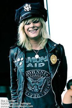 Maja Ivarsson, vocal from The Sounds