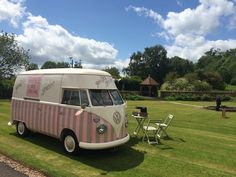 Florence at Delbury Hall Shropshire. Vintage Ice Cream Van Hire. Pollys Parlour. Pollys Vintage Ice Cream Parlour. Wedding Hire for Ice Cream. http://www.pollys-parlour.co.uk