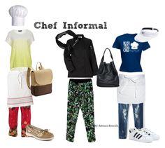 La chef trabaja varias horas parada y necesita comodidad en su ropa y calzado, pero siempre con estilo. Además necesita un bolso grande para llevar ropa limpia. Más sobre estilo o colores que te sientan bien? https://www.facebook.com/bazardelacoloracionpersonal?ref=hl