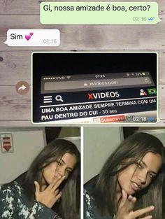 Uma boa amizade Não sou em quem está dizendo The post Uma boa amizade appeared first on Le Ninja.