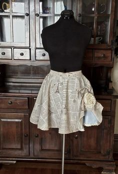 Three Layer Audrey Circle Skirt by Deconstructress on Etsy, $75.00