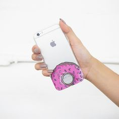 "Clear TPU Case Cover for iPhone 6 (4.7"") D'ohnuts – milkyway"