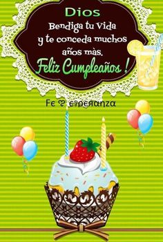 Happy Birthday For Him Christian Ideas For 2020 Happy Birthday Wishes Spanish, Happy Birthday Nephew, Happy Birthday Greetings Friends, Birthday Wishes Messages, Birthday Blessings, Birthday Greeting Cards, Happy Birthday Cards, Happy Birthday Christian Quotes, Happy Birthday Quotes