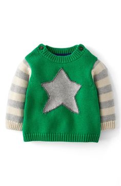 Mini Boden Logo Sweater (Baby Boys) available at #Nordstrom