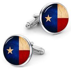 Wholesale Pack of 6 State of Texas Flag Bike Hat Cap lapel Pin