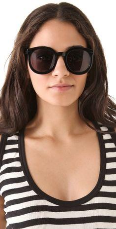 Karen Walker Super Duper Strength Sunglasses - :)