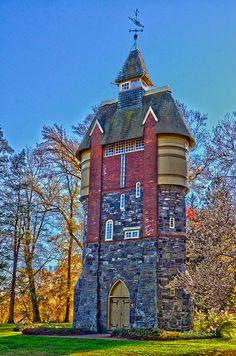 Oakbourne Mansion Watertower . Pennsylvania