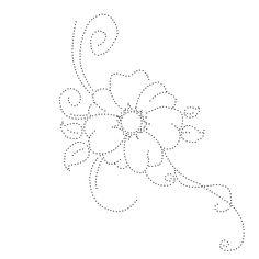 Moje perełki: Schematy - haft matematyczny - kwiaty