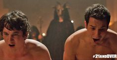 Miles Teller and Skylar Astin Miles Teller, Skylar Astin, 21 And Over, Famous Movie Quotes, Movie Photo, Good Looking Men, Good Movies, How To Look Better, Cinema