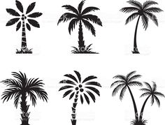 Palm tree royalty-free stock vector art