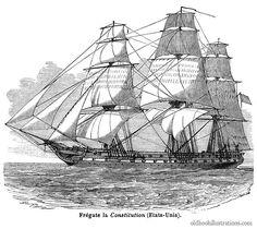 Frigate USS Constitution