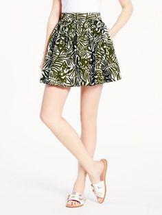 orchid coreen skirt #KateSpade