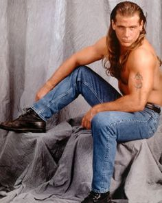 Shawn Michaels of WWE. I had the biggest crush on him when I was younger. Men's Wrestling, Wrestling Stars, Wrestling Superstars, Wwe Shawn Michaels, The Heartbreak Kid, Undertaker Wwe, Wwe Pictures, Stephanie Mcmahon, Wwe Roman Reigns