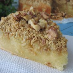 bizcocho crumble de manzana