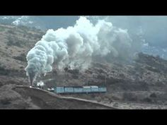 The mighty (Mainline Steam) Ka 942 climbs effortlessly up the Cass Bank in New Zealand's Southern Alps Storms, Alps, New Zealand, Southern, Clouds, Outdoor, Outdoors, Thunderstorms, Outdoor Games