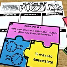 Elapsed time, perimeter, area, and measurement centers have been added for third grade! Swipe to see more! 10 centers for $4! Linked! #astrobrights .. .... https://www.teacherspayteachers.com/Product/Third-Grade-Math-Centers-Elapsed-Time-Perimeter-Area-an