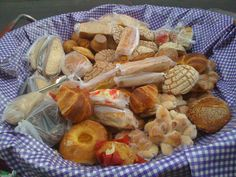 Variedades de pan dulce