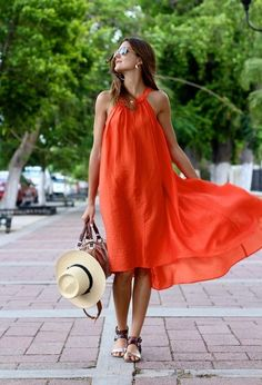 23 Outfit Ideas With Trendy Summer Colors Color Naranja, Mode Inspiration, Fashion Inspiration, Summer Colors, Her Style, Spring Summer Fashion, Love Fashion, Summer Outfits, Beauty