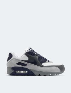 Nike Air Max 90 - White/Neutral Indigo/Smoke Grey