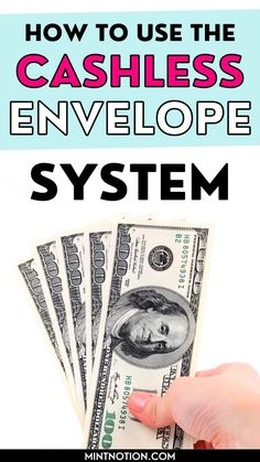 How to use the cash envelope system without cash. If you want to follow Dave Ramsey's cash envelopes without cash, check out these budget tips to help you get started. Includes common cash envelope categories and free cash envelope printables. If you don't want to worry about carrying cash in your wallet, the cashless envelope system can be a great way to save money. Budget Envelopes, Cash Envelopes, Envelope Budget, Life On A Budget, Sinking Funds, Paying Off Student Loans, Cash Envelope System, Free Cash, Create A Budget