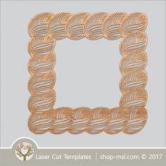 Product laser cut photo frames template, online laser cut design store. @ shop-msl.com Frame Template, Templates, Cut Photo, Kids Decor, Laser Cutting, Cnc, Frames, Store, Pattern