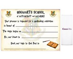 Tactueux image pertaining to free printable harry potter invitations