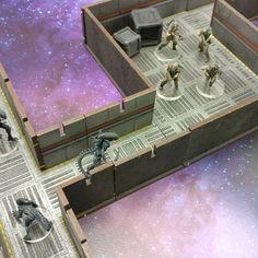 #avpthehuntbegins #LaserTerrain #wargaming #tabletopminiatures #kickstartercampaign