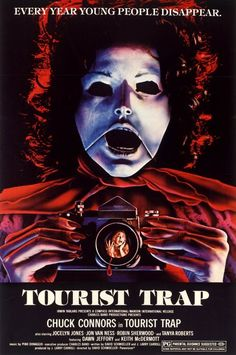 Tourist Trap (1979)- took a chance and saw this film on a whim one night...  its actually a pretty good 70s b-horror film, love this cover! -l.s.
