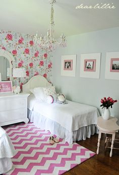 Dear Lillie: Lillie and Lola's New Room (Not Quite Finished But Getting There!)