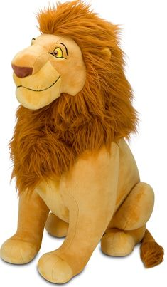 Giant Stuffed Mufasa. Now that is awesome