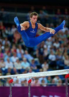 Boys Gymnastics, Gymnastics Outfits, Artistic Gymnastics, Olympic Gymnastics, Olympic Games, Elite Gymnastics, Sam Mikulak, Mens Leotard, Male Gymnast