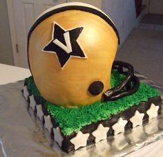 Vandy Football Cake
