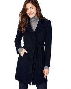 Achetez Manteau avec ceinture Bleu Foncé pour Manteaux dans la boutique  officielle en ligne United Colors f2a84cfcf06