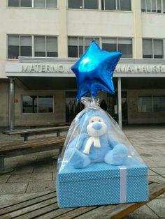 Llegada al hospital de una de nuestras #canastillas de bebés http://www.cestaland.com/precio-mayor-120-euros/138-cesta-osito-sonrisas-canastilla-regalo-bebe.html