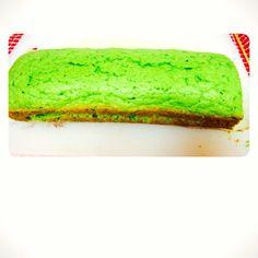Green pound cake