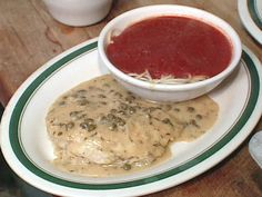 Chicken Piccata recipe from The Best Of via Food Network