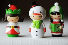 snowman suit doll