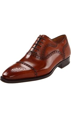 Magnanni Men's Santiago Oxford,Catania Cognac,11.5 M US Best Price