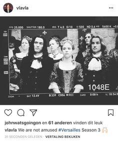 IG Versailles Season 2, Versailles Bbc, George Blagden, The White Princess, The Borgias, Now And Forever, Period Dramas, Historical Fiction, Marie Antoinette